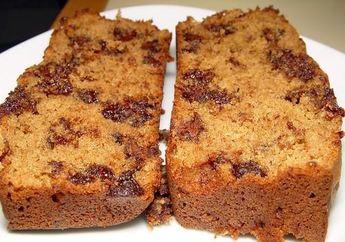 365/34, chocolate chip banana bread