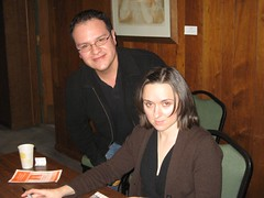 Sal with Sarah Vowell