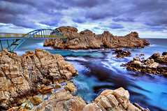 Here I am (bhophoto) Tags: longexposure blue clouds landscape island coast d2x bluewater korea neat 1020mm hdr diamondclassphotographer flickrdiamond