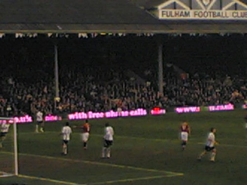Fulham V ManU