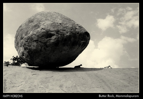 Butter Rock, Mammalapuram