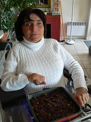 Sylvie et gâteau
