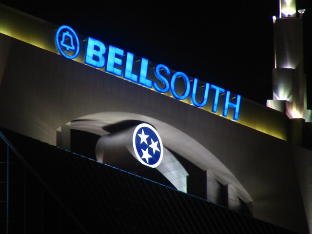 Testing a new Telephoto lens: Bellsouth building