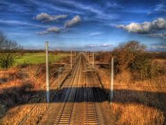 Railroad (Batram) Tags: railroad train photoshop germany deutschland thringen photo flickr eisenbahn railway db thuringia explore bahn gleise hdr schiene batram abigfave impressedbeauty superaplus aplusphoto