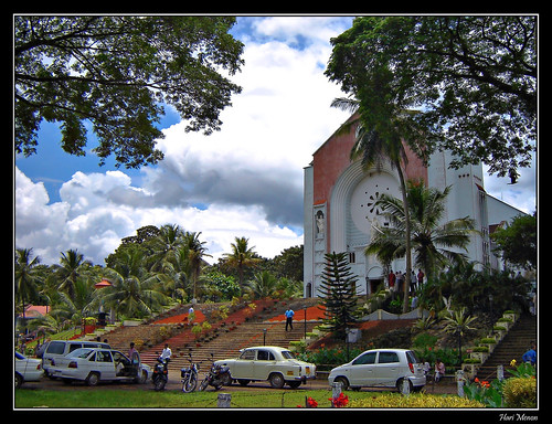 St Thomas Cathedral, Pala -- qtpfsgui india asia pala cathedral country godsowncountry church palai god's wedding tony's