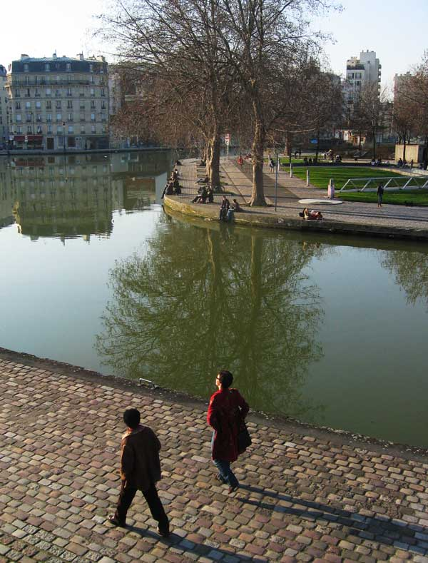 Intersection du canal de l'Ourcq et canal Saint Denis