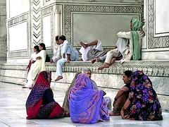 En el Taj-Mahal