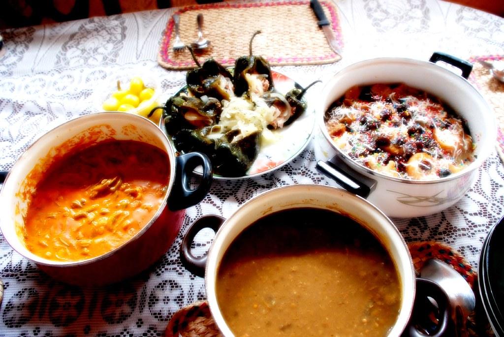 Comida de cuaresma. Lent  Meals