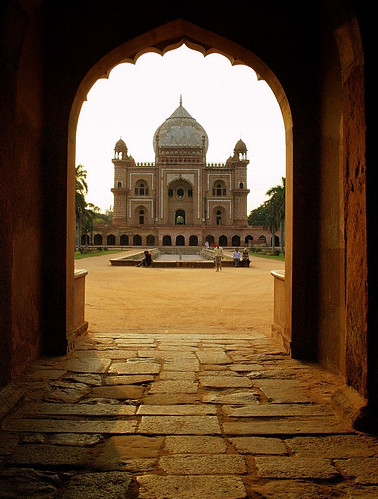 An evening in safdarjung tomb