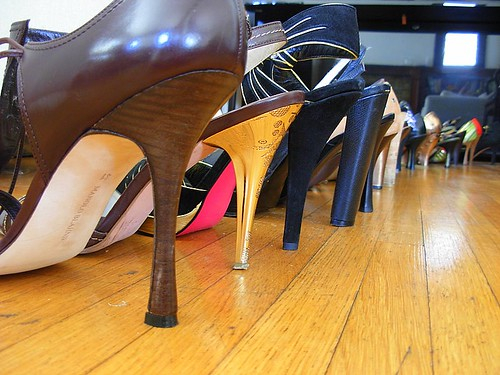 all heels, all the time