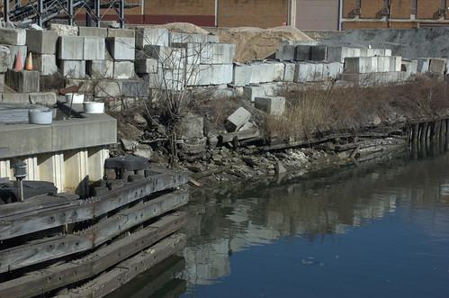 Failing Bulkheads, Gowanus Canal, Ninth Street Bridge