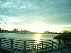 sunset6 (marilora) Tags: bridge sunset water boston harbor eastie eastboston bostonharbor