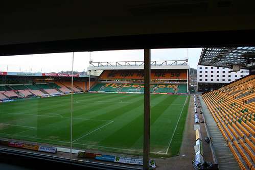 Carrow Road Football Ground Commentary Box