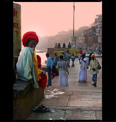 Timeless (designldg) Tags: india man colours religion devotion varanasi ganga ganges ghats benaras uttarpradesh  diamondclassphotographer sdhu lightiq