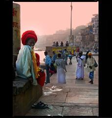 Timeless (designldg) Tags: india man colours religion devotion varanasi ganga ganges ghats benaras uttarpradesh भारत diamondclassphotographer sâdhu lightiq