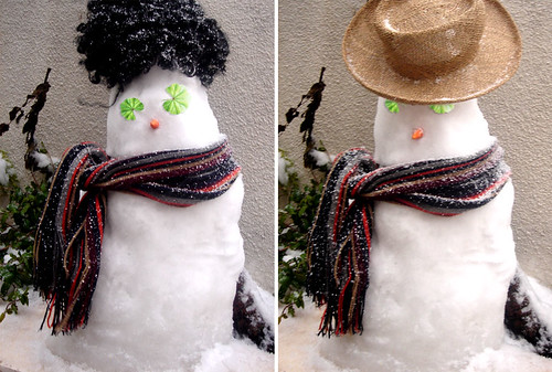 khobbeizeh, the skinny Snowman