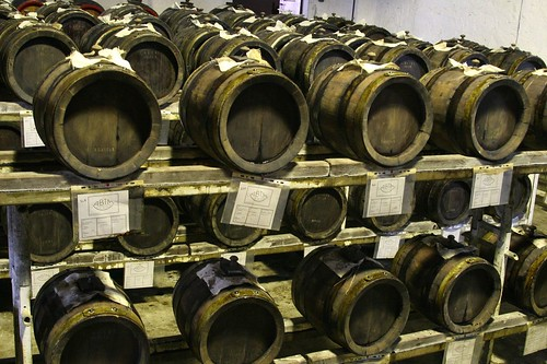 Part of a Balsamic Battery of Barrels