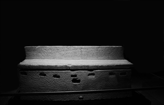 Imperial Rome Exhibit , Fernbank - Early Christian Sarcophagus