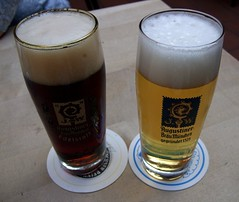 Augustiner Beer: Dunkles and Helles