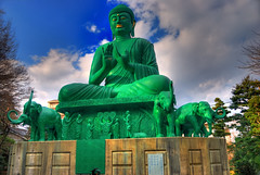 Green Buddha (HDR) - by EugeniusD80