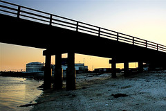 Sunset incline (M. Longfellow) Tags: bridge sunset newjersey nj capemaypoint capemay wildwood capemaycounty capemayx