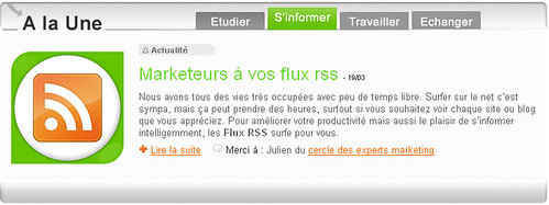 Marketing vos flux