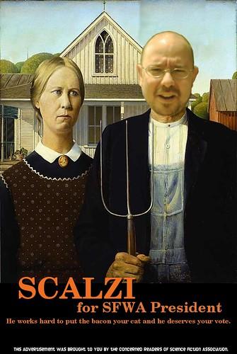 Scalzi for SFWA in 2007!