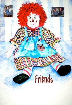 raggedy ann friends