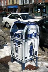 NJ - Hoboken: R2D2 Mailbox - by wallyg