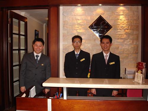 Personal del Hotel Hanoi Elegance 2