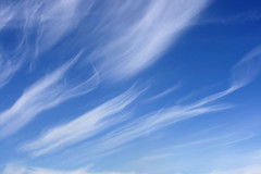 Wisps of clouds (macropoulos) Tags: blue sky cloud white nature clouds canonef35mmf2 gettyimages wisps naturesfinest blueribbonwinner 250v10f canoneos400d impressedbeauty brpblue gettyimages:date_added=pre20110607