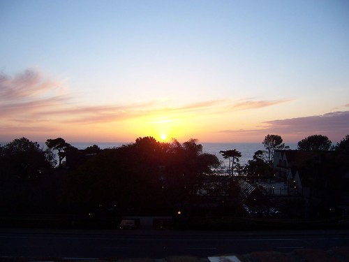 Sunset from Del Mar