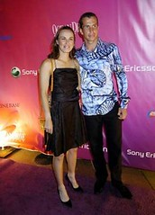 hingis and stepanek - sony ericsson players party