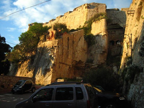 A fortress left by the Medici