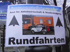 Bonn Piccobello (twesener) Tags: smart germany deutschland garbage bonn clean sauber rein pure mllmann garbagetruck binman garbageman dustcart mllwagen piccobello