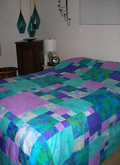 Queen bed pieced 1