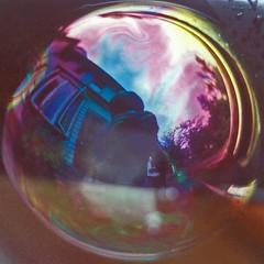 Soap Bubble Self Portrait - by kaymoshusband