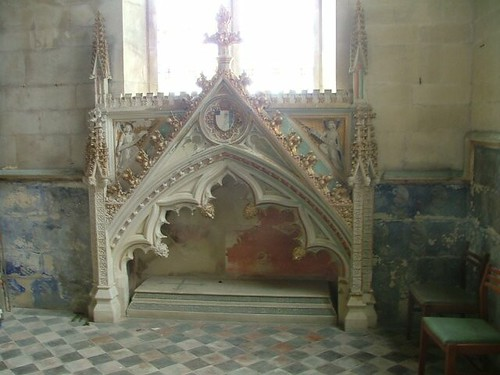 Pugin's tomb recess for Augustus Sutton