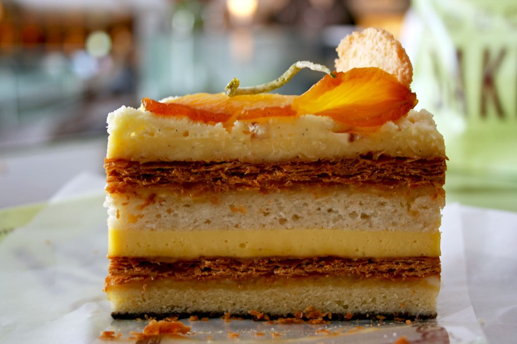 Tropical Millefeuille (side view)