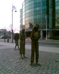 Dublin famine memorial (mole-volio) Tags: dublin famine