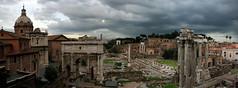 Forum Panorama (davekellam) Tags: italy panorama rome italia forum romanforum palatinehill