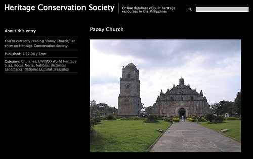 Paoay church by Heritage Conservation Society