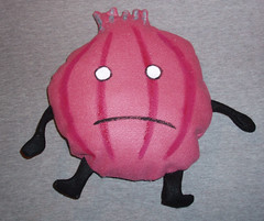Mope the Onion doll