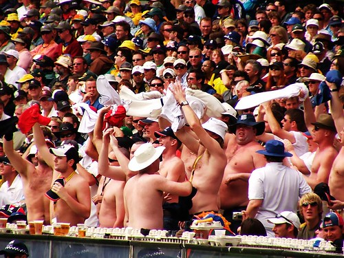 Photo- Fat Cricket Fans (mugley@flickr)