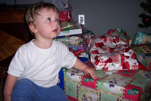 Nathan and presents