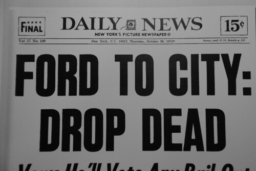 New york post ford to city drop dead #4