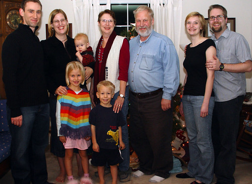 Gerdes-Gollub Family Portait Christmas 2006
