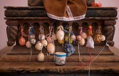 offering of eggs (Ilhuicamina) Tags: art mexico religious churches offering eggs altars ofrendas guerrero nahua