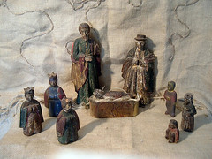 Filipino Belen (bleak!) Tags: christmas old holidays antique philippines colonial santos filipino creche nativity belen santo nacimiento krippe pasko ilocano