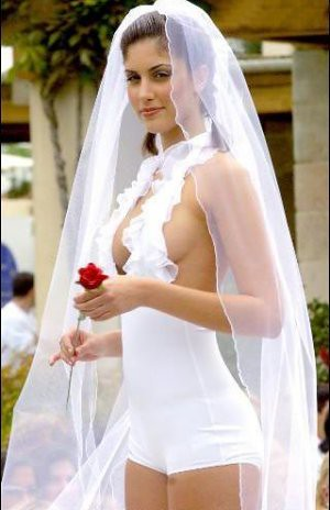 A Sexy and Elegant Wedding Dress